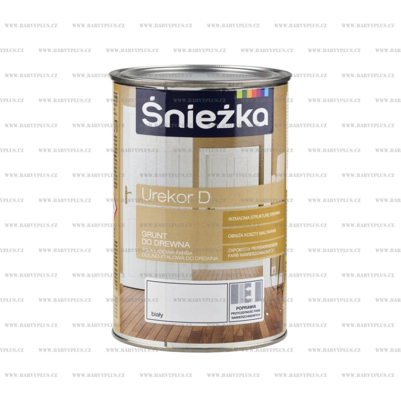 UREKOR D - bílá základní barva na dřevo