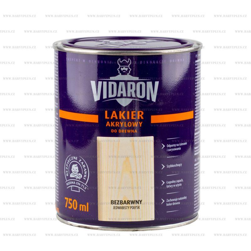 VIDARON Akrylový lak na dřevo 750ml