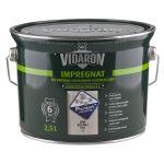 VIDARON IMPREGNAT slabovrstvá lazura na dřevo (2,5L)