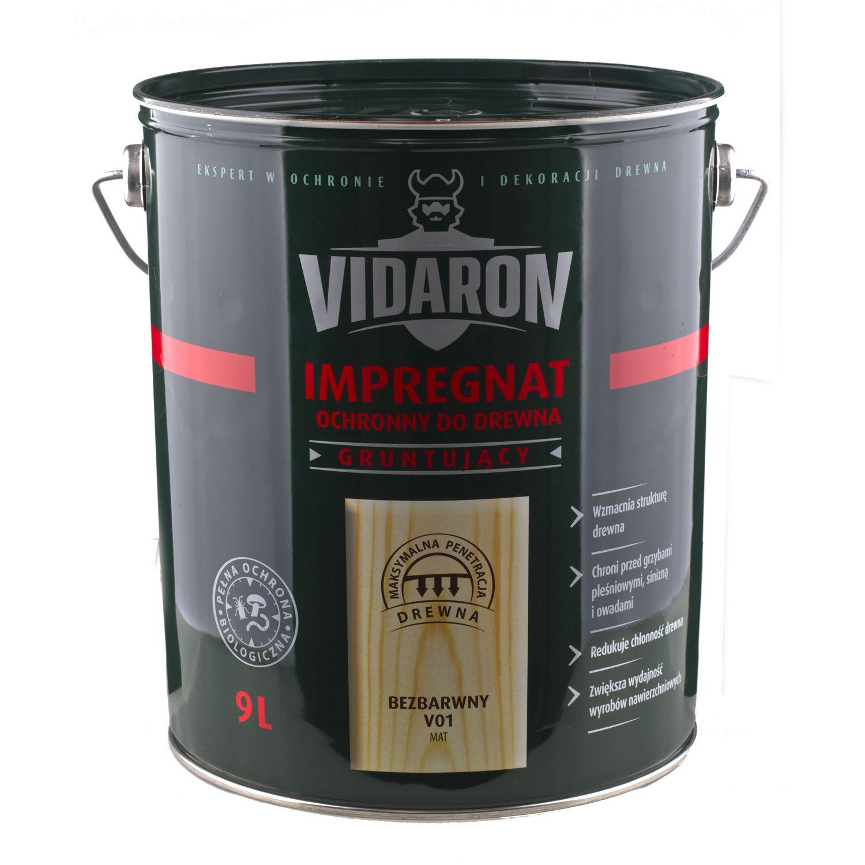 VIDARON IMPREGNAT - základní ochrana dřeva - exteriér