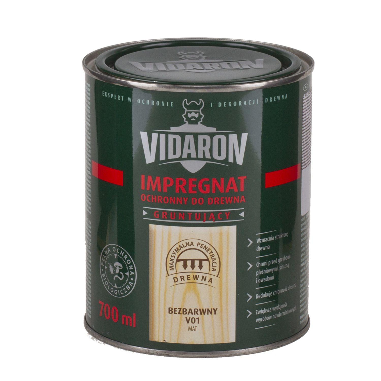 VIDARON IMPREGNAT - základní ochrana dřeva v exteriéru