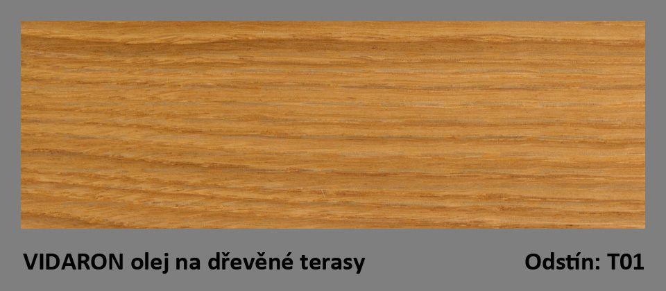 VIDARON olej na dřevěné terasy T01