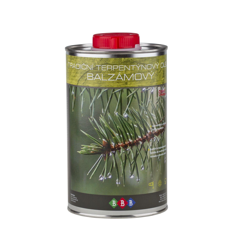 Tradiční terpentýnový olej balzámový (0,9L)