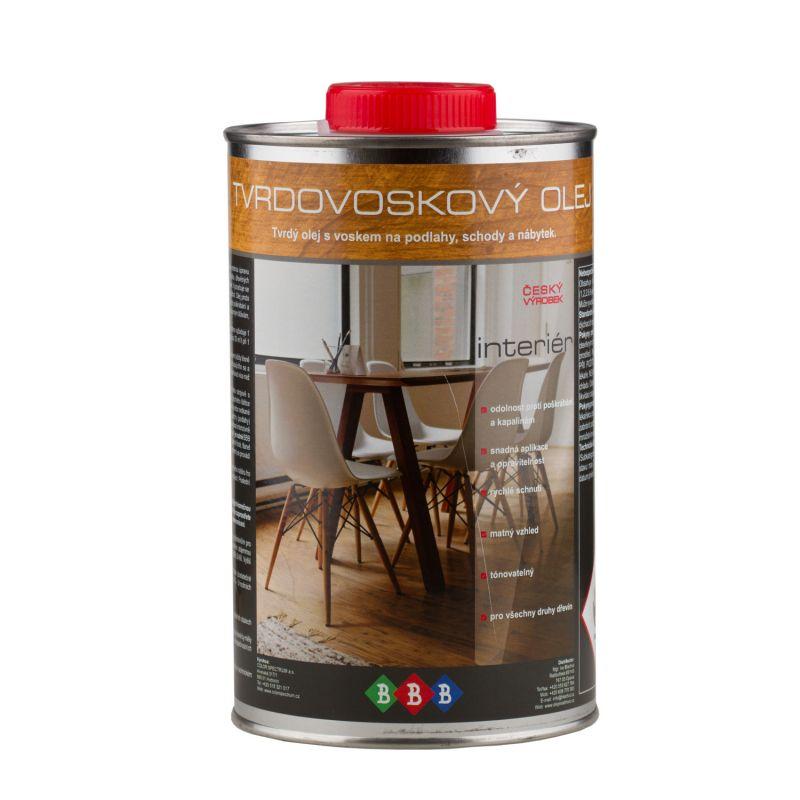 Tvrdovoskový olej na podlahy a nábytek